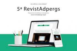 A 5ª edição da RevistAdpergs já está disponível