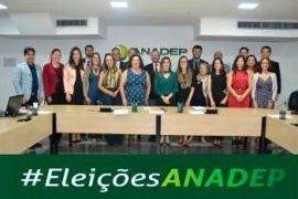 ANADEP elege nova diretoria para biênio 2019/2021