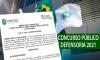 CONCURSO: DPE-RR anuncia abertura das inscrições para concurso público
