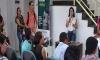DIÁLOGO NA SALA DE ESPERA Assistidos recebem palestra sobre Cadastro Único na Defensoria